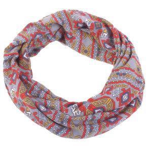 Kruhový šedý šátek Terry
