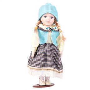 DOLL porcelánová panenka Coleta 30 cm