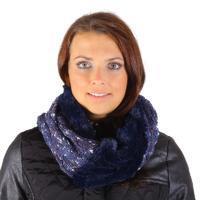 Designový dámský nákrčník Hayley modrý G1