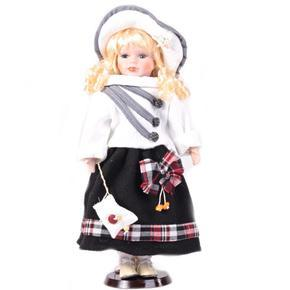 DOLL porcelánová panenka Arja A 40 cm