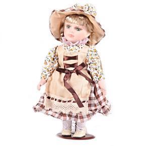 DOLLS porcelánová panenka Pauleta 30 cm