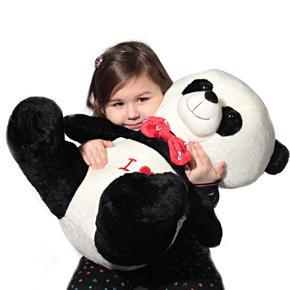 Sedící plyšová panda 48 cm Mambo