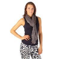 Tmavě šedý šátek Ema B1