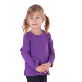 Dětské tričko dlouhý rukáv Marlen fialové od 122-152
