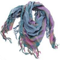 Čtvercový šátek Kristin modrý D3