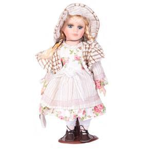 DOLL porcelánová panenka Lara 30cm