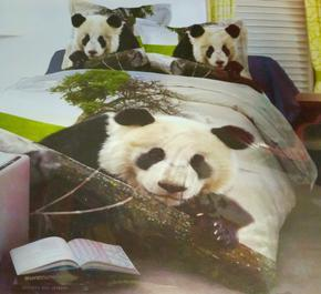 Jednolůžkové povlečení Panda