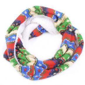 Módní zimní šátek Holly modrý F8