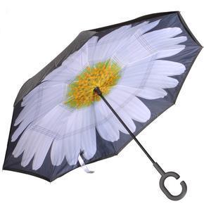 Obrácený deštník Sofia bílý