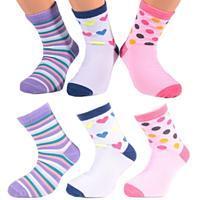 Dívčí klasické ponožky O6c BW