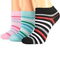 Dívčí pruhované nízké ponožky M4d R
