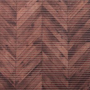 Gumová koupelnová rohož 65cm Parkety