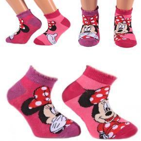 Kotníkové dívčí ponožky Minnie Mause P4c R