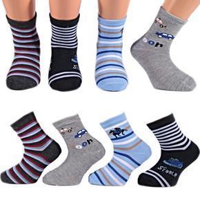 Klučičí klasické ponožky O7b