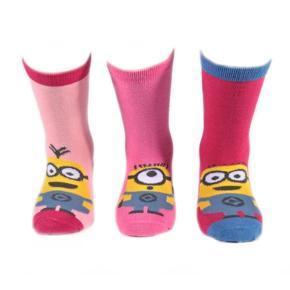 Klasické dívčí ponožky Mimoni P6b