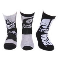 Chlapecké klasické ponožky Star Wars P2a