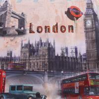 Povlak na polštář Londýn 40x40 cm