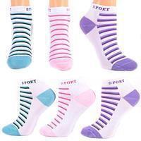 Sportovní bavlněné dětské ponožky R3a SR