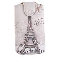 Pouzdro na mobil Sarah - motiv Eiffelovka