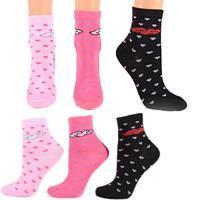 Bavlněné dívčí ponožky N4a R cr
