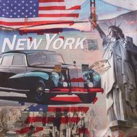 Povlak na polštář New York 40x40 cm