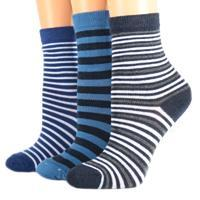 Bavlněné dětské ponožky modré M6c