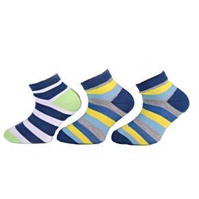 Bavlněné dětské nízké ponožky M1c ZY