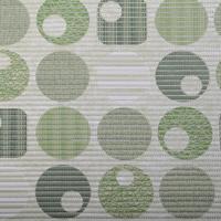 Gumová koupelnová rohož 65cm Kruhy