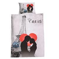 3D povlečení motiv Paris in Love