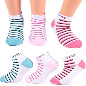 Sportovní bavlněné dětské ponožky R3a M