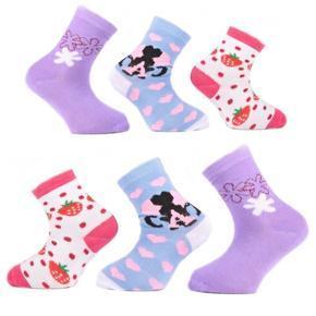 Holčičí klasické ponožky R6b F