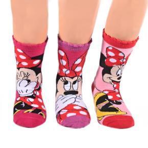 Klasické dívčí ponožky Minnie Mouse P4a