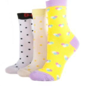 Klasické dívčí ponožky M2a BW