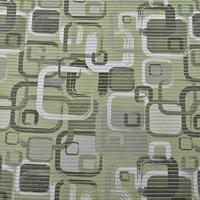 Gumová koupelnová rohož 80 cm Kostka zelená