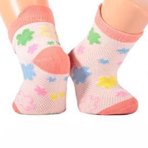 Kojenecké ponožky oranžové S8a