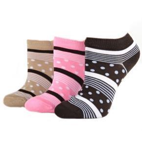 Vzorované kotníkové ponožky M5c R 31-35