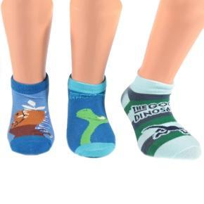 Chlapecké nízké ponožky Dinosaurus P7c
