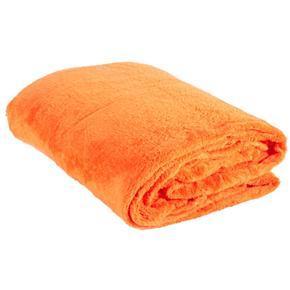 Oranžová hřejivá deka Alex 180 x 220