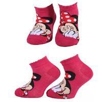 Kotníkové dívčí ponožky Minnie Mause P4c CR