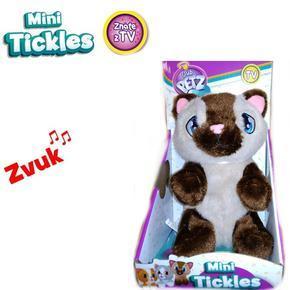 Mini Ticklec plyšová kočka 16cm Tina