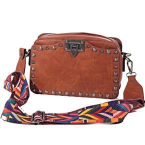 Mini kufříková kabelka Greys sv. hnědá