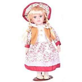 DOLL porcelánová panenka Katy 30cm