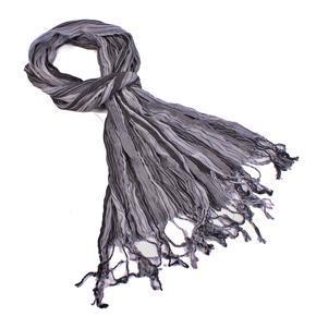 Slabý šátek Helen šedý B4