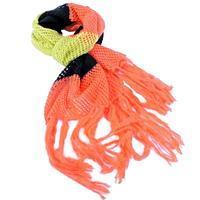 Oranžová pletená šála Irina G7