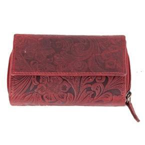 Dámská luxusní kožená peněženka Esmel