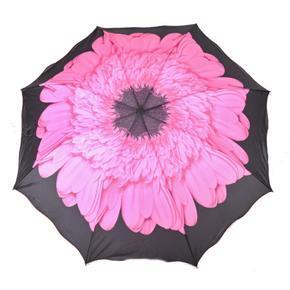 Skladací dámský deštník Simona růžový
