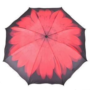 Skladací dámský deštník Simona červený