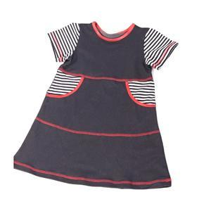 Dívčí šaty krátký rukáv Lucie