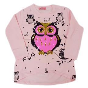 Dětské růžové tričko s měnícím obrázkem Jessi