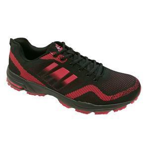 Pánské nadměrné botasky Viktor červené